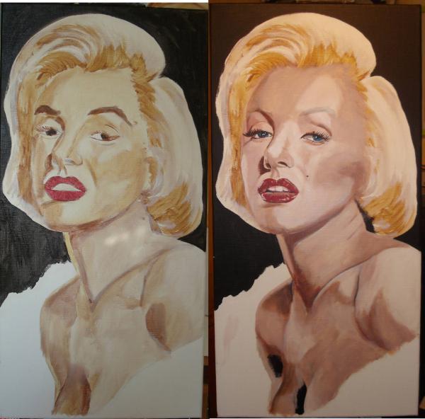 Marilyn Monroe by lhommeloiret